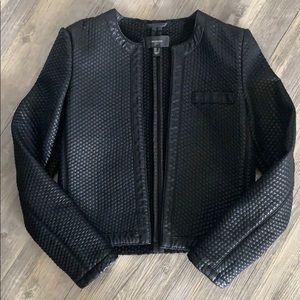 Mango Suit Faux Leather Jacket